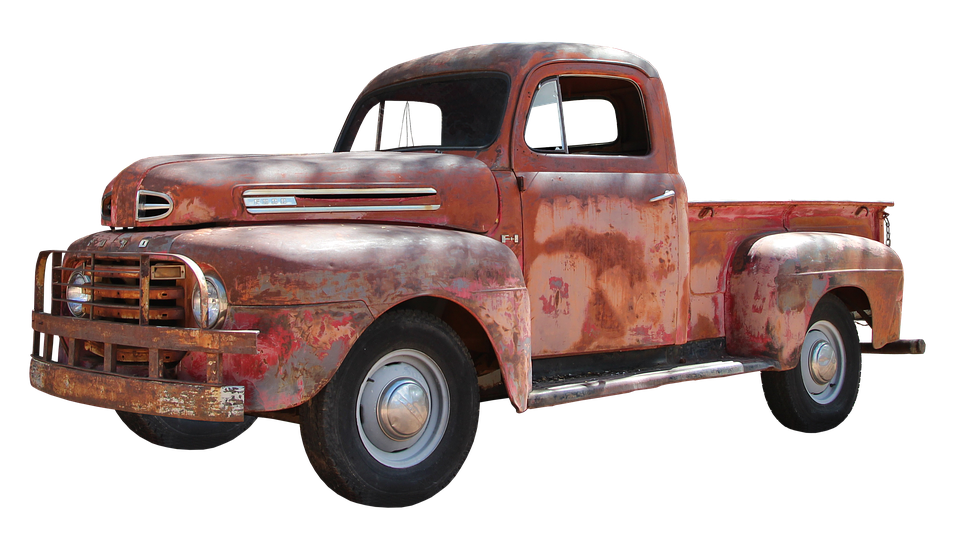 Us Car, Old, Vintage, Oldtimer, Classic - Old Truck PNG HD