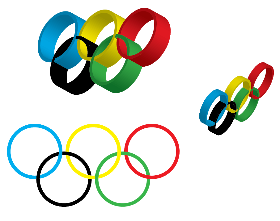 Olympic Rings PNG HD - 130933