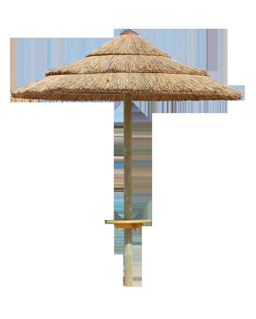 Ombrellone in Canna del Capo - Ombrellone PNG