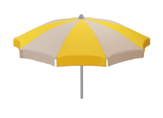 Traditional beach umbrella - Ombrellone PNG