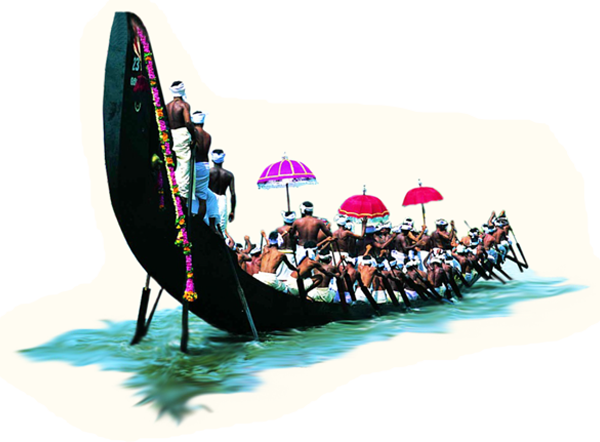 Aranmula Uthrattathi Boat Race- the famous snake boat carnival on the river  Pamba is on 18th September 2016. - Onam Festival Boat Race PNG