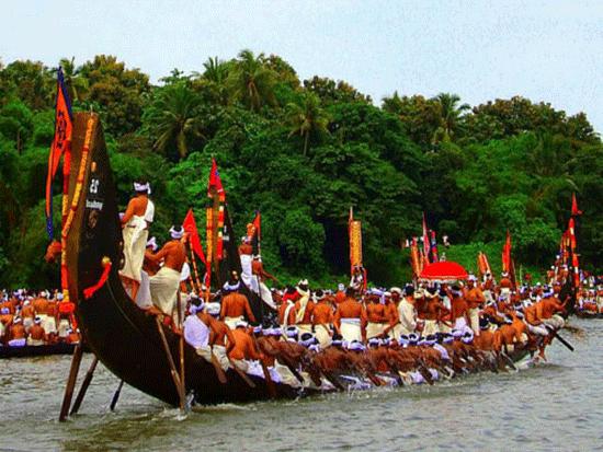 Aranmula Vallamkali Boat Race - Onam Festival Boat Race PNG