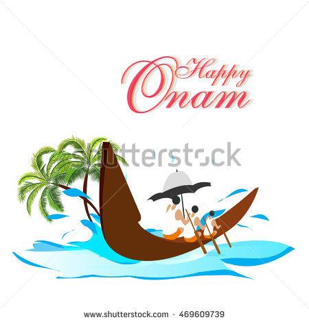 Onam Festival Boat Race PNG - 77246