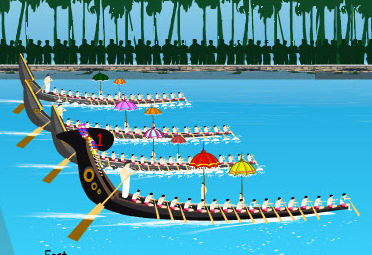 HAPPY ONAM TO ALL MI COMMUNITY MEMBERS - Onam Festival Boat Race PNG