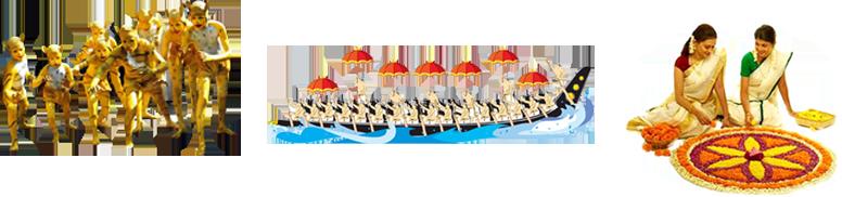 Onam Festival Boat Race PNG