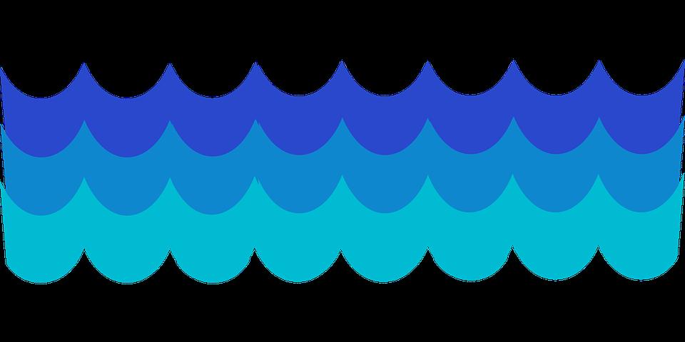 blu acqua modello mare marea onde ocean wave - Onde PNG