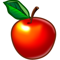 Format: PNG - One Apple PNG