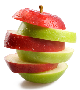 Most Popular Health Benefits, Risks and Nutrition Facts from One Apple - One Apple PNG