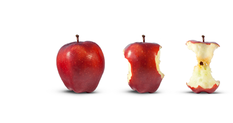 Take a Bite Out of Hunger . PlusPng.com One Apple at a Time - One Apple PNG