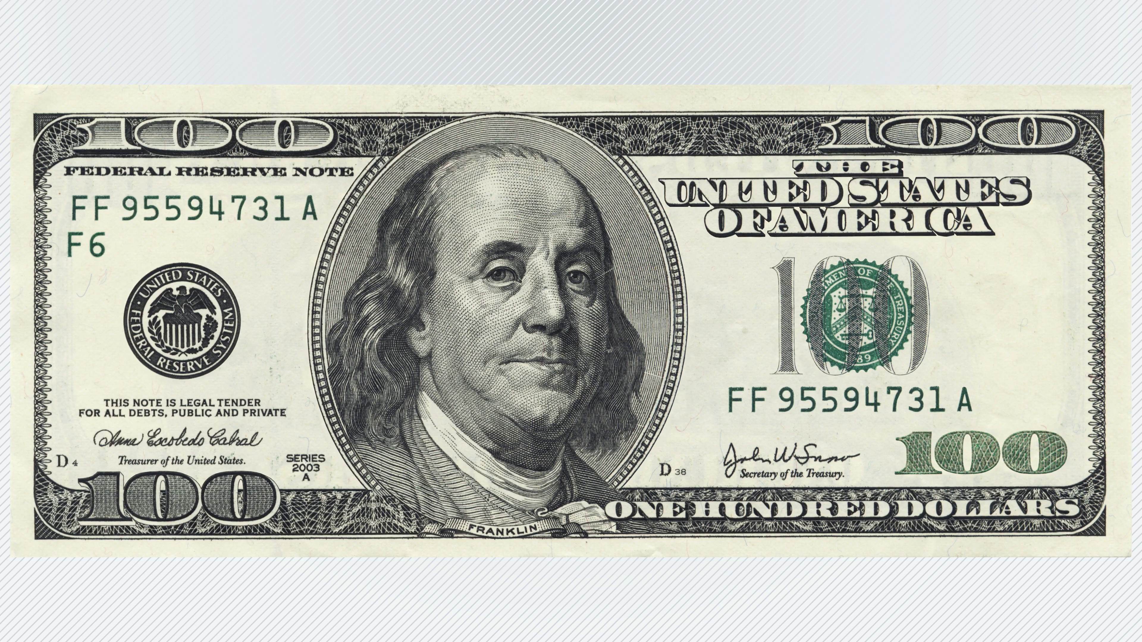 One Dollar Bill PNG-PlusPNG.com-3840 - One Dollar Bill PNG