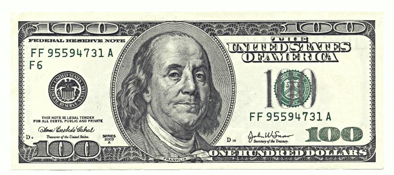 1 Dollar Bill Clip Art image - One Dollar Bill PNG