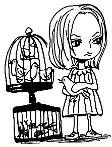 File:Hina as a Child.png - One Kid PNG Black And White