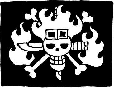 File:Kid Piratesu0027 Jolly Roger.png - One Kid PNG Black And White