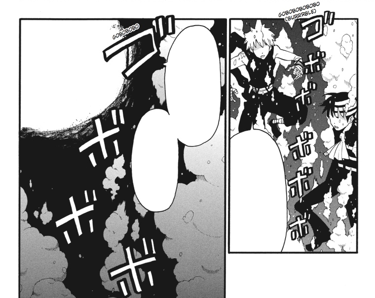 Soul Eater Chapter 79 - Great Old One releases Black Star and Kid.png - One Kid PNG Black And White