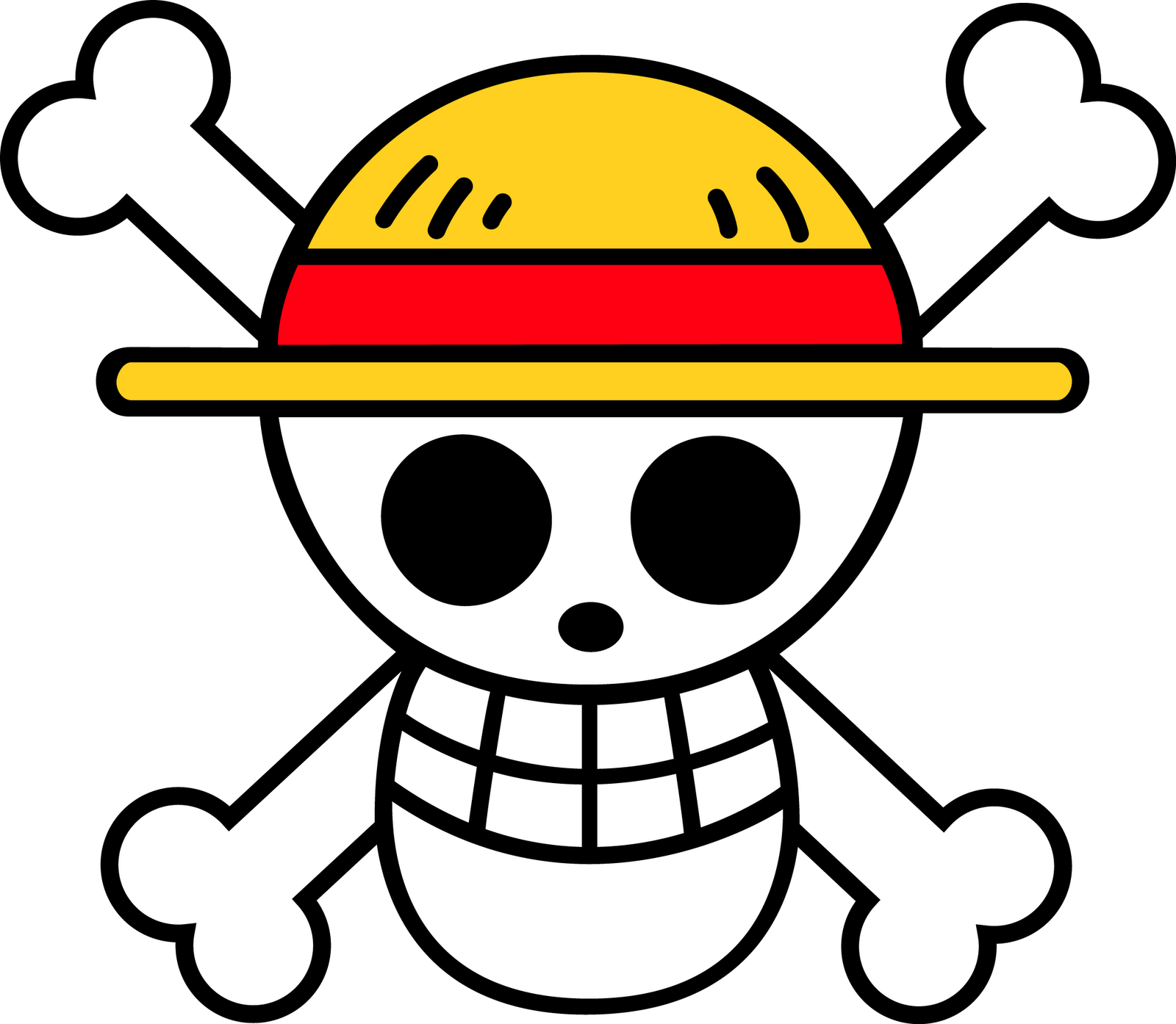One Piece Chibi PNG Image