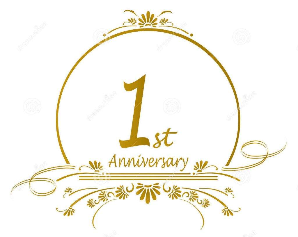 One Year Anniversary PNG - 167878