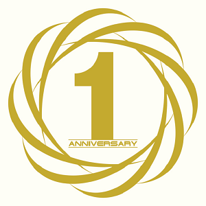 One Year Anniversary PNG - 167876