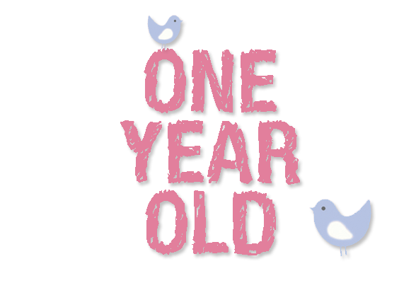 One Year Anniversary PNG - 167879