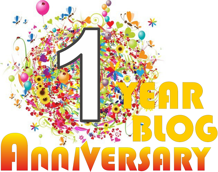 One Year Anniversary PNG - 167885