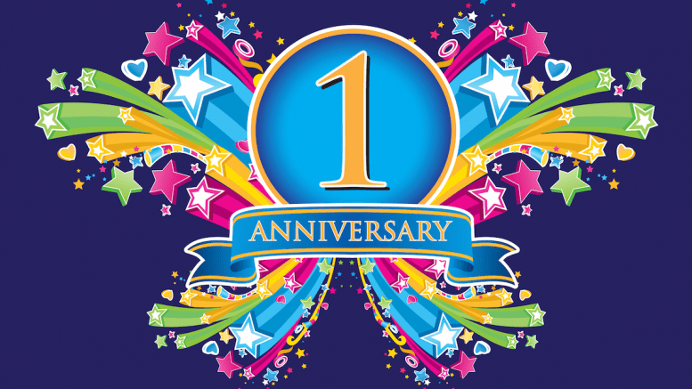 One Year Anniversary PNG - 167889