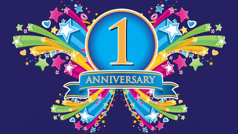 One-Year-Aniversary - One Year Anniversary PNG