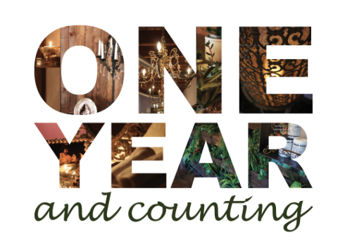 One Year Anniversary PNG - 167894