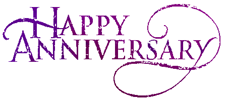 One Year Anniversary PNG - 167895