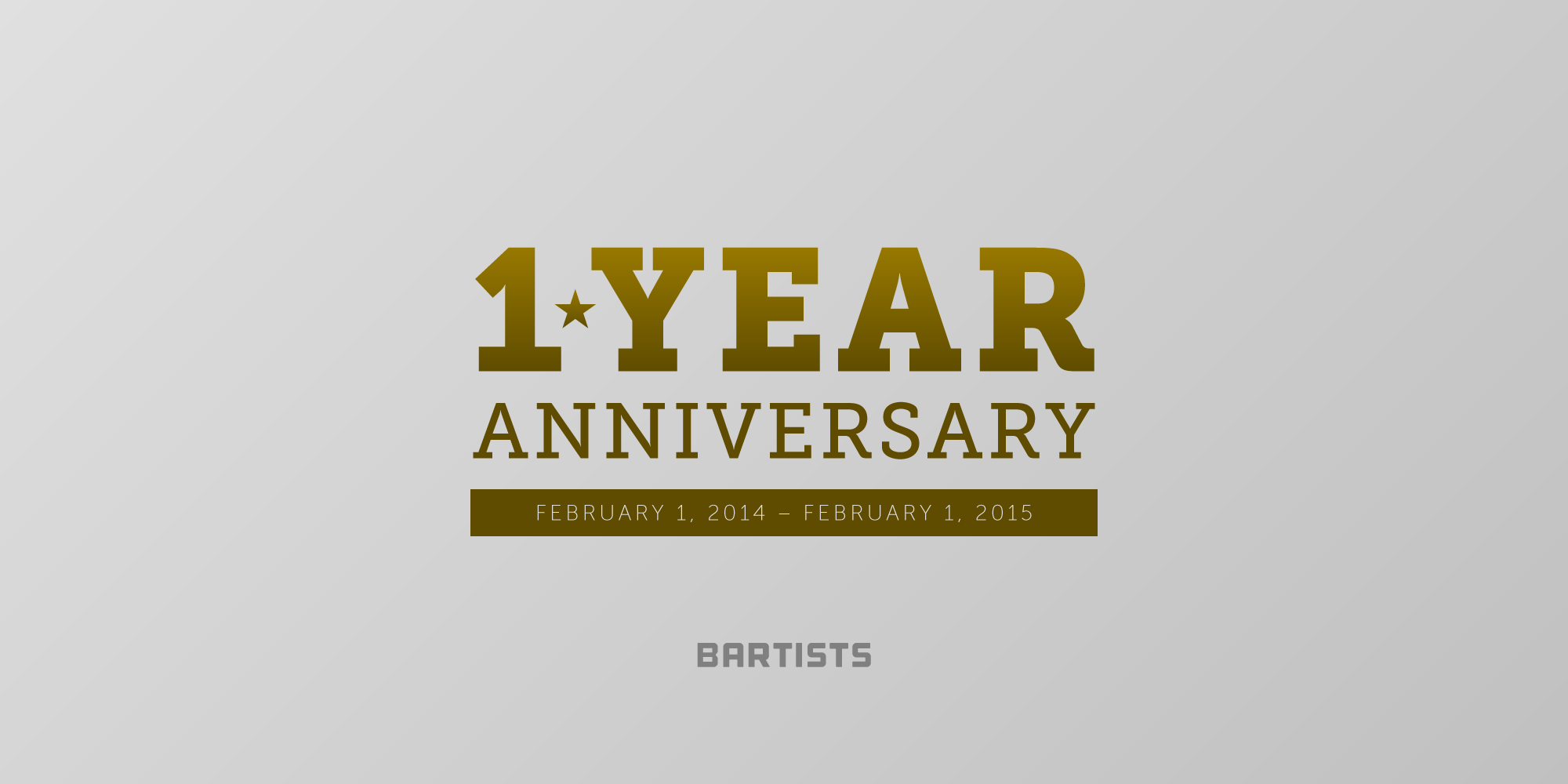 One Year Anniversary PNG - 167886