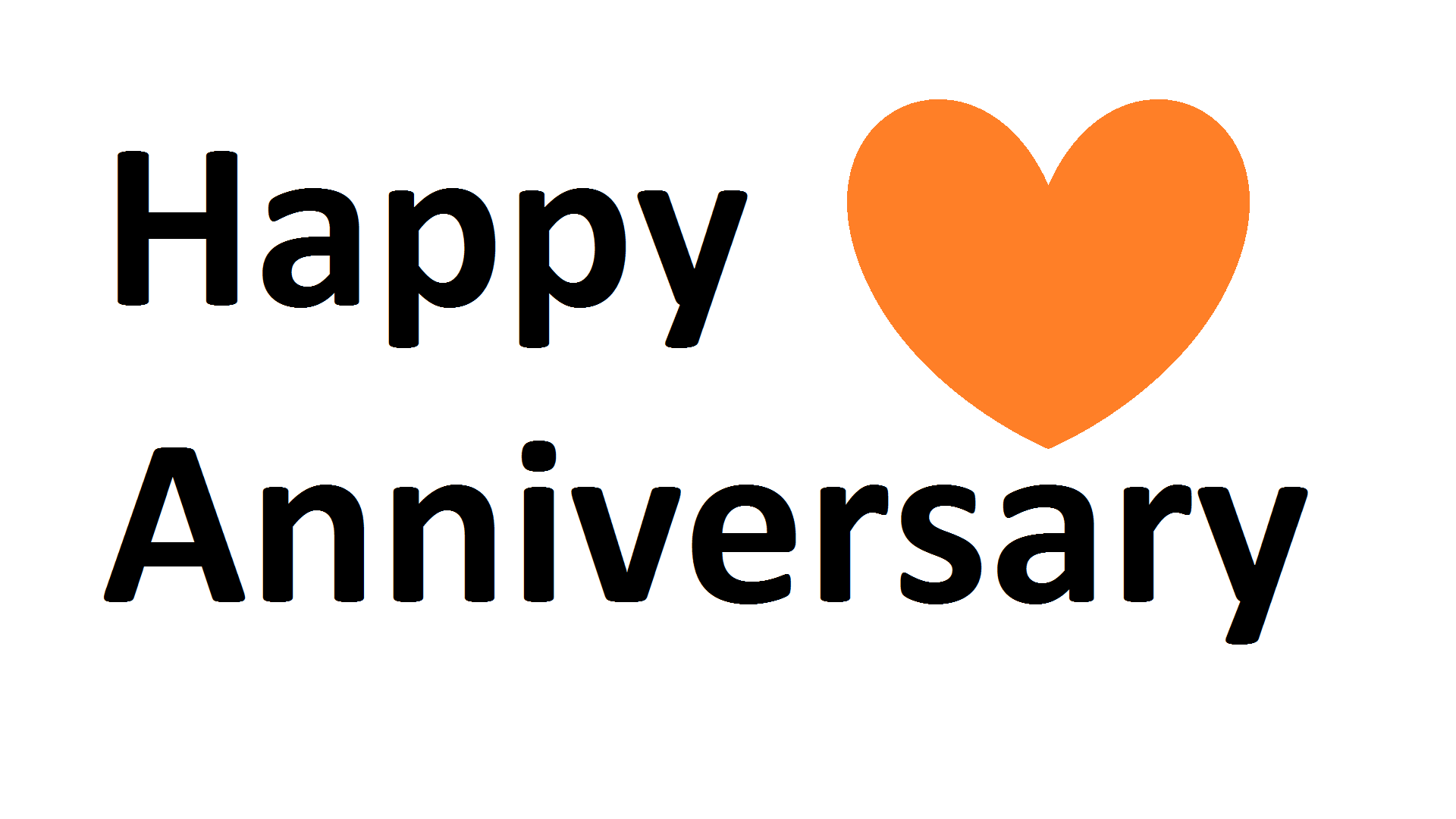 One Year Anniversary PNG - 167891