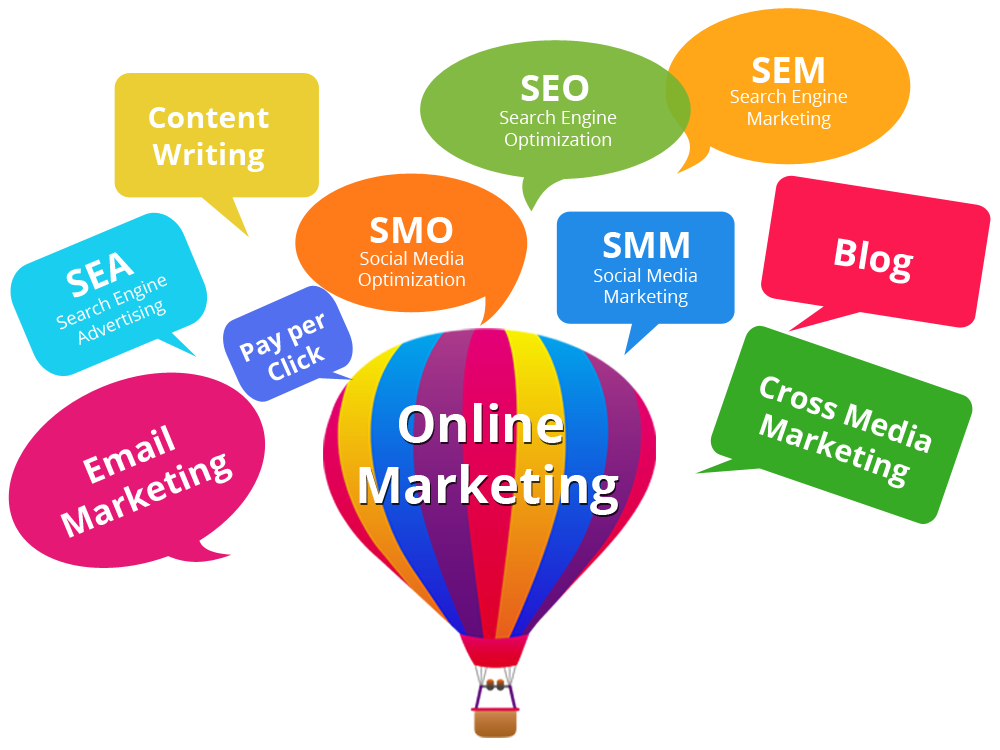 Online Marketing Png