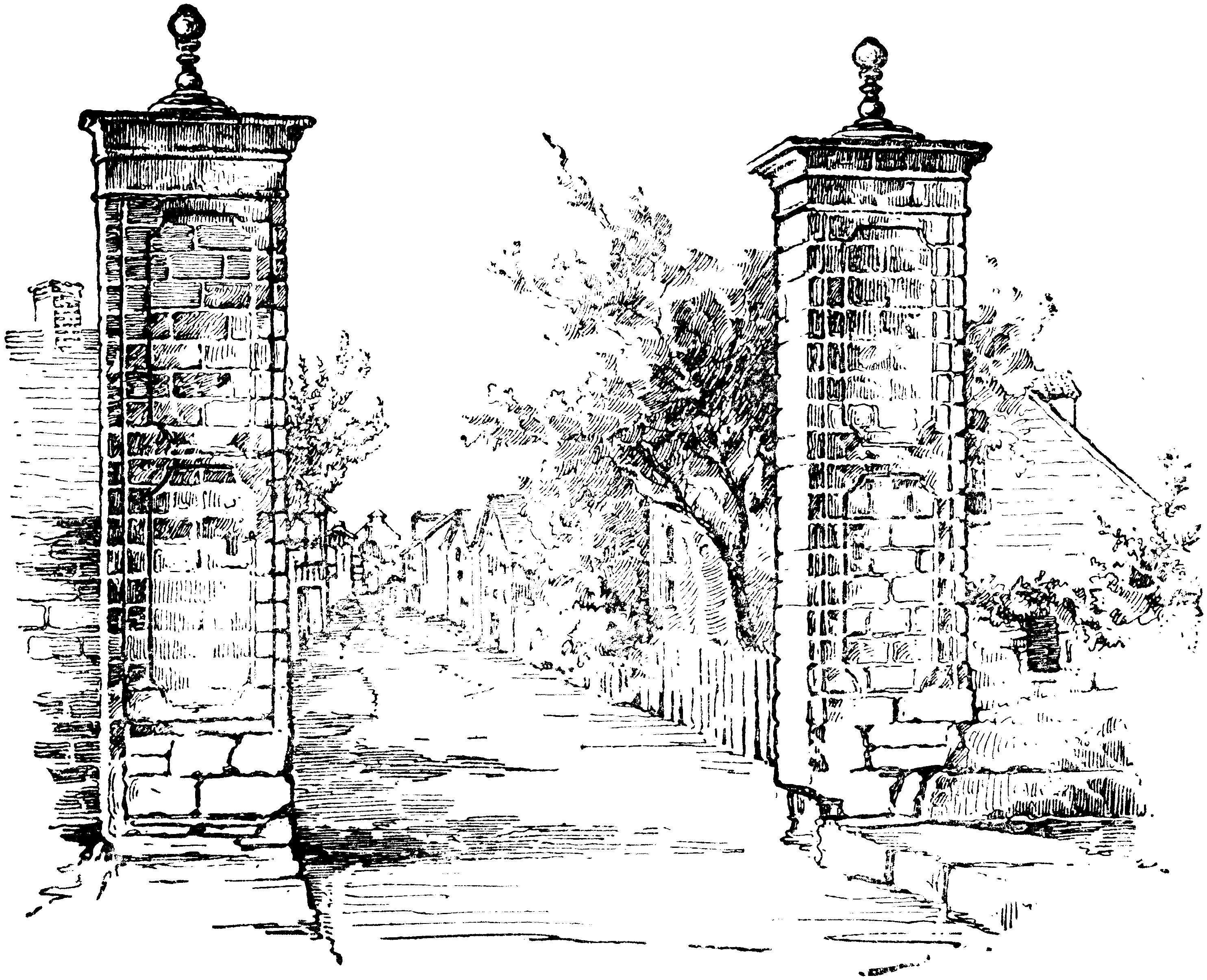 File:City Gate of St. Augustine BAH-p21.png - Open Gate PNG