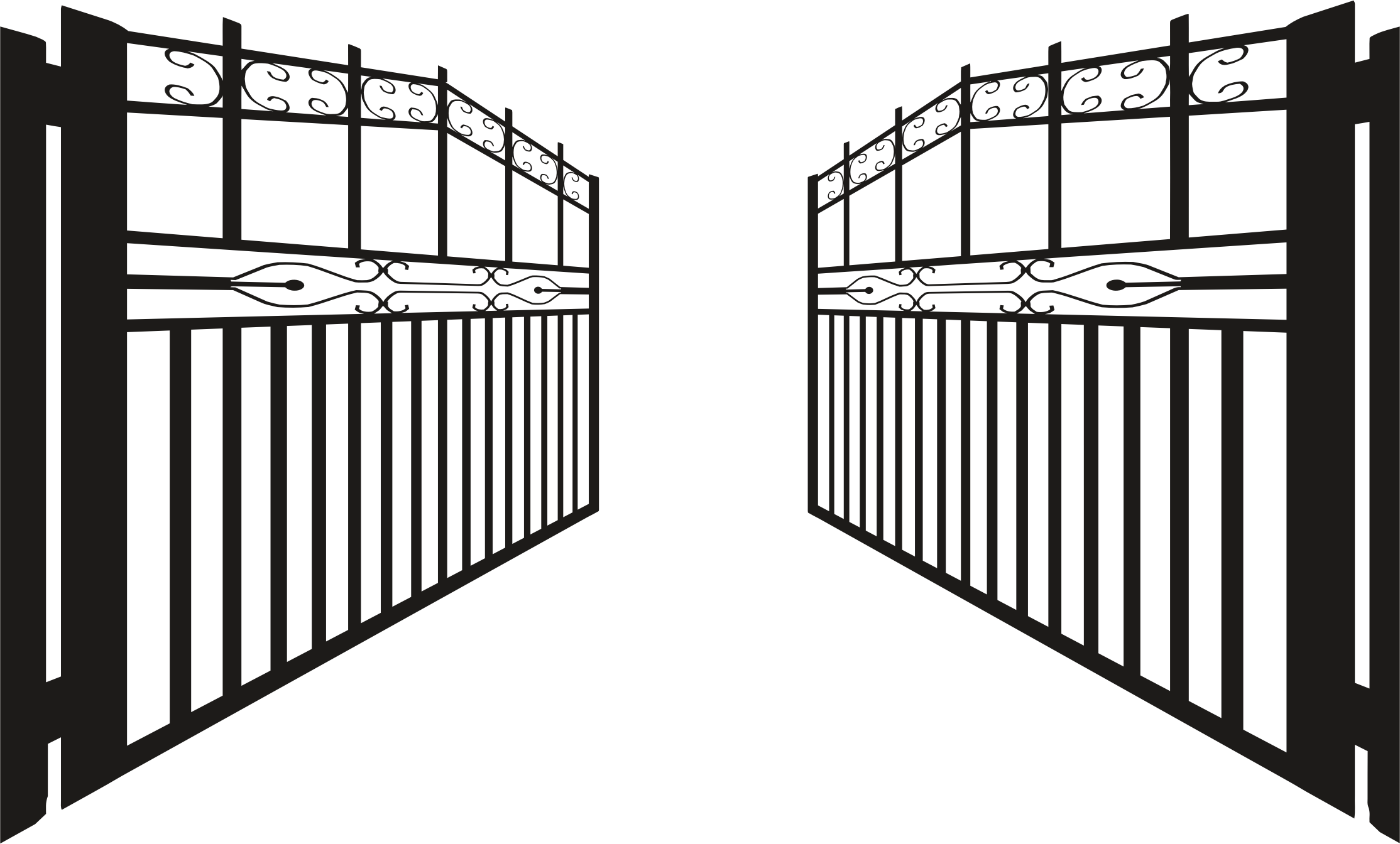 Open gate png transparent images pluspng