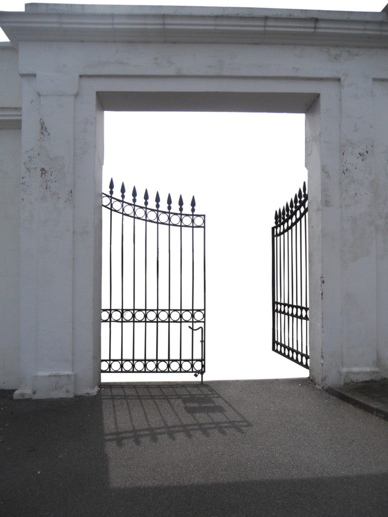 Open Gate 2 PNG (precut) by V