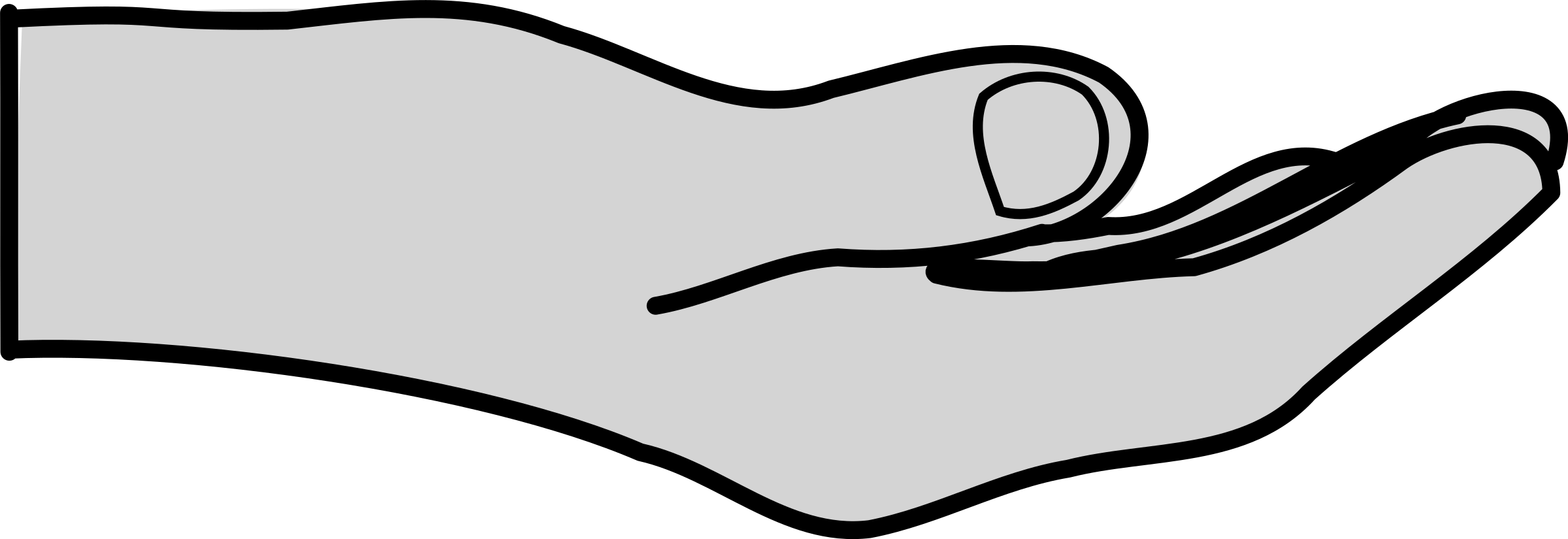 BIG IMAGE (PNG) - Open Giving Hands PNG