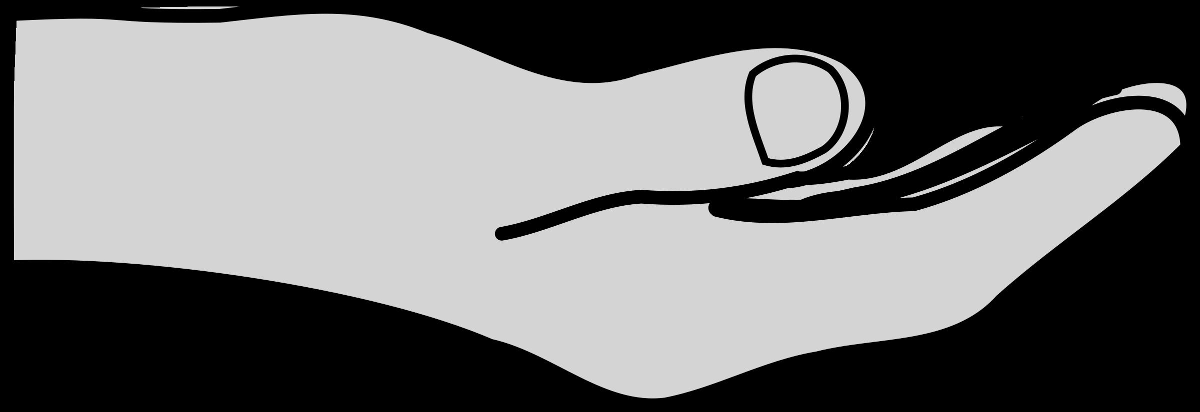 Open Giving Hands PNG - 135028