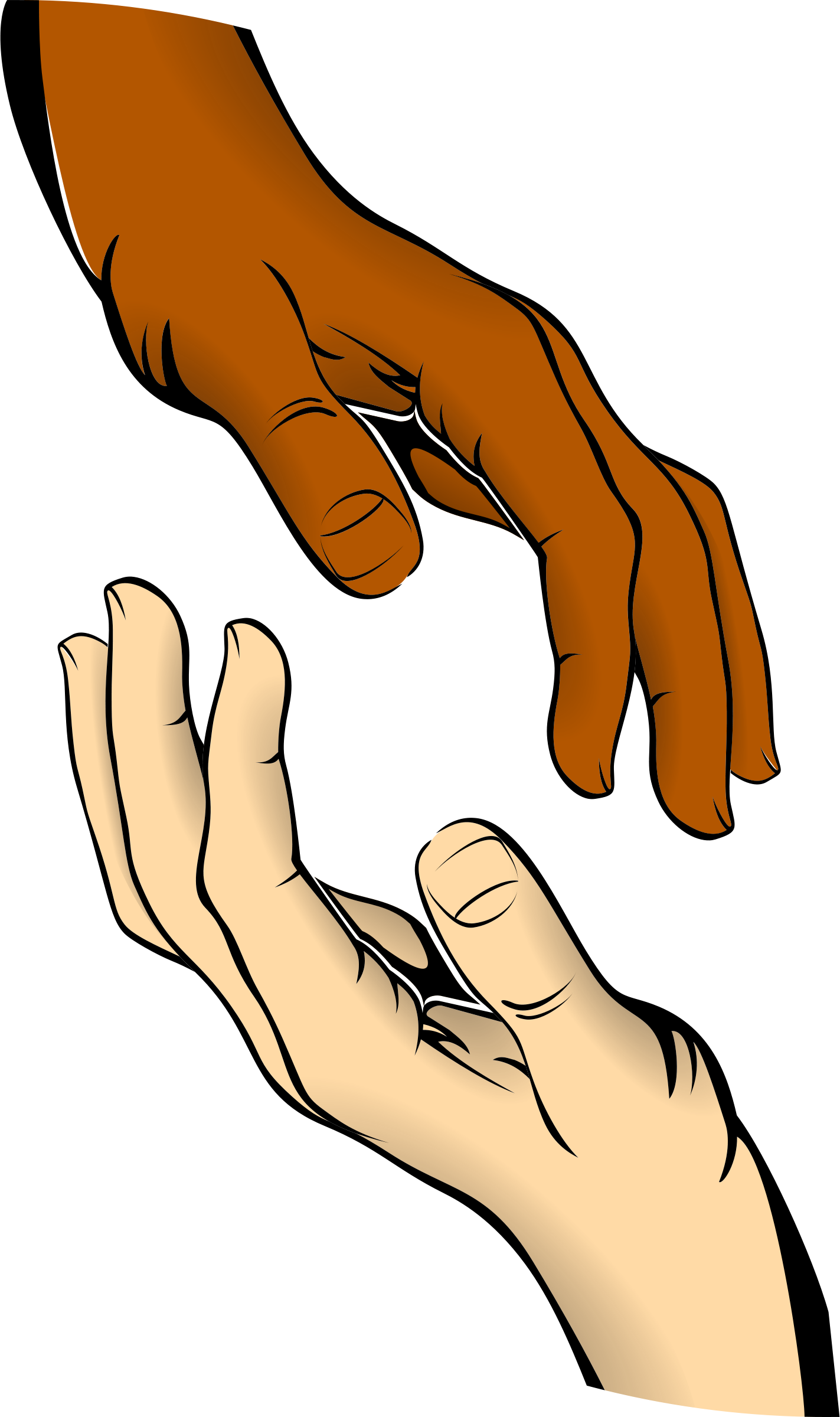 Clipart Info - Open Giving Hands PNG