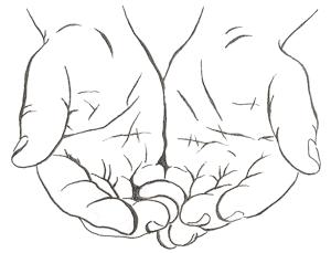 Open Giving Hands PNG - 135021