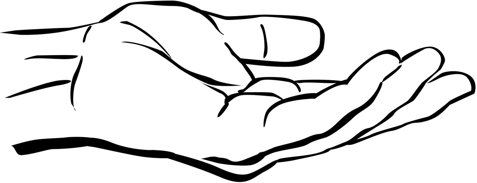 Open Giving Hands PNG - 135016