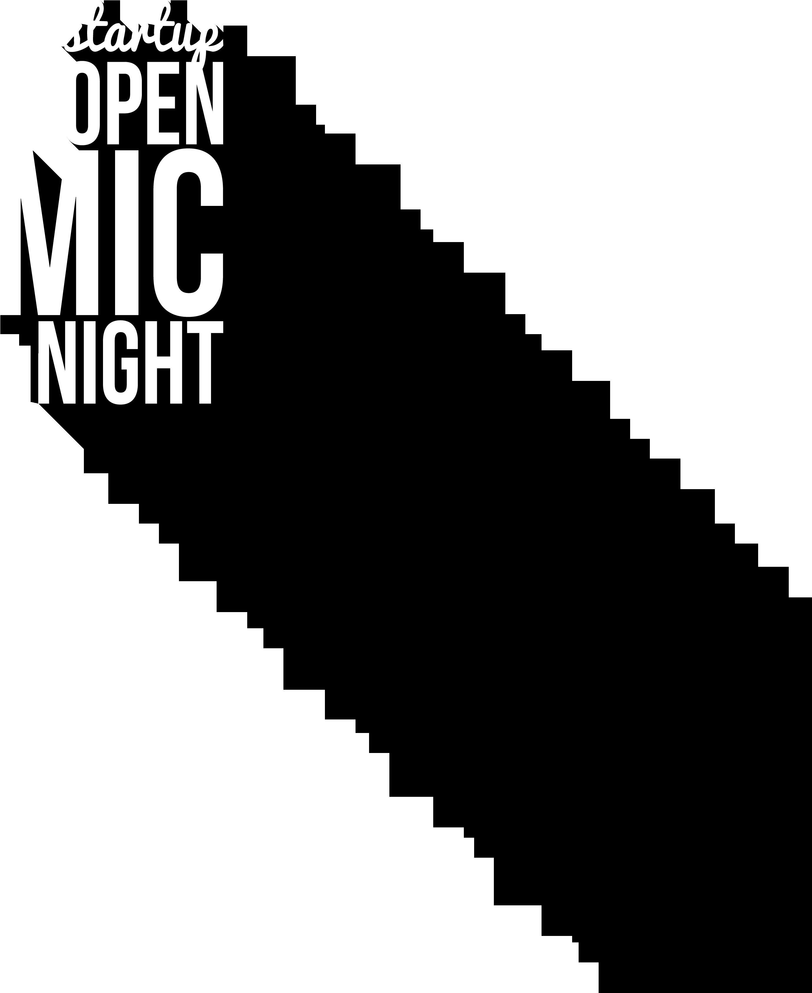 logo - Open Mic PNG