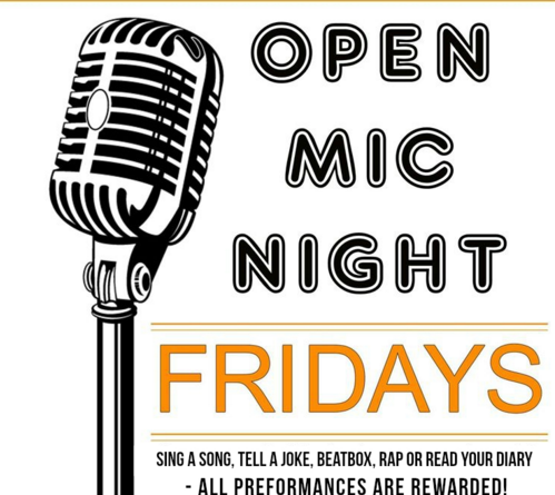Open Mic Fridays at Saloon Ba