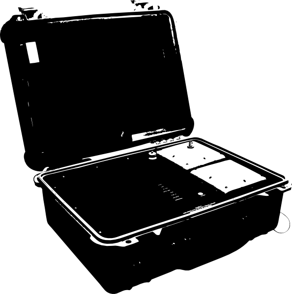 PNG: small · medium · large - Open Suitcase PNG HD