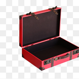 Red suitcase, Open Suitcase, Suitcase, Red Box PNG Image - Open Suitcase PNG HD