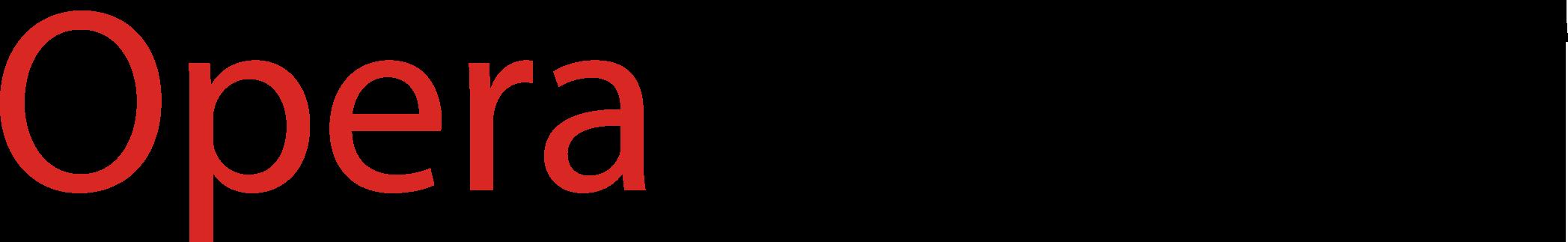 Opera Logo PNG - 36701