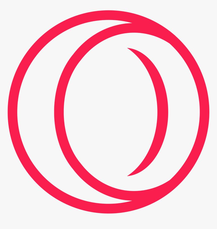 Opera Browser Logo Lineart - Opera Gx Icon Png, Transparent Png Pluspng.com  - Opera Logo PNG