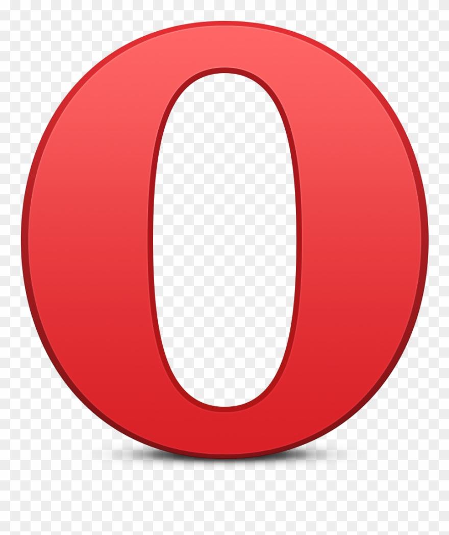 Opera Logo Png - Opera Browser Logo Png Clipart (#717135) - Pinclipart - Opera Logo PNG