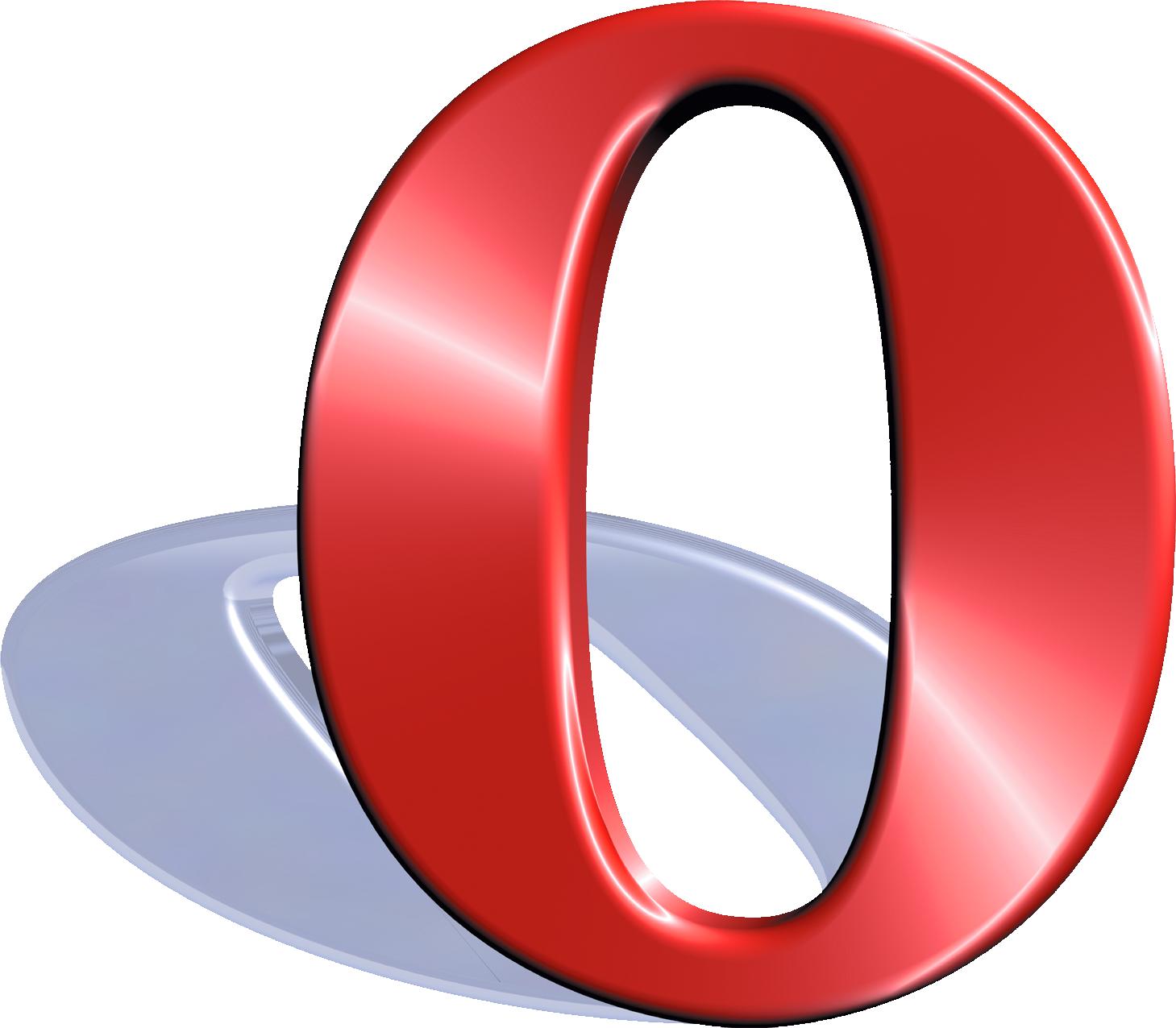 2004u20132010 - Opera Logo Vector PNG