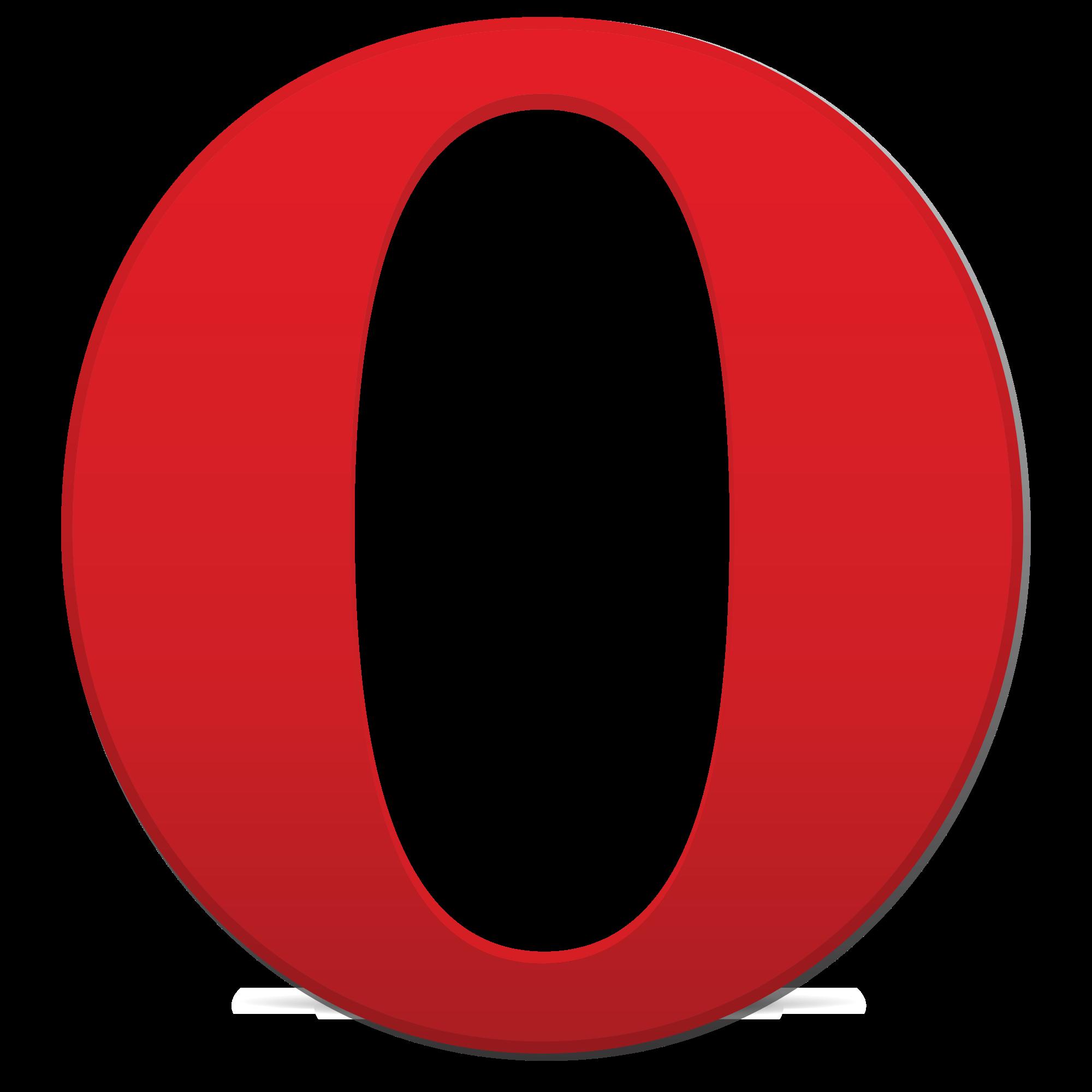 Opera Logo Vector PNG