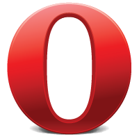 Opera Browser Icon, PSD u0026