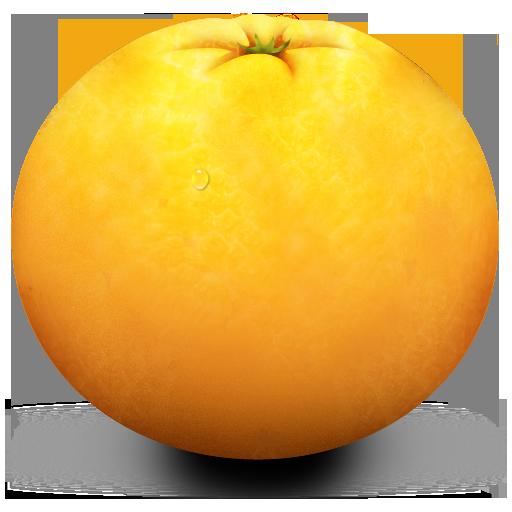 banana - Orange HD PNG