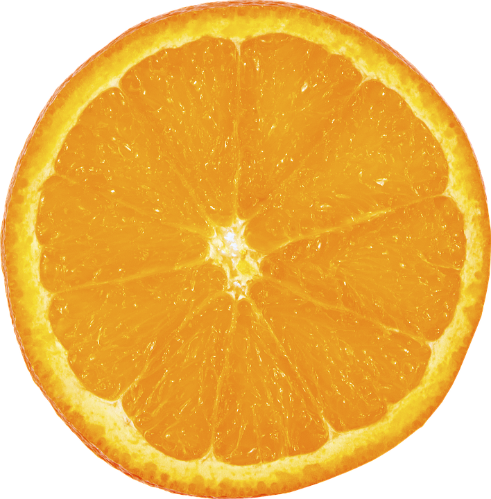 Fruit, Orange, Slice, Png, Transparent - Orange PNG
